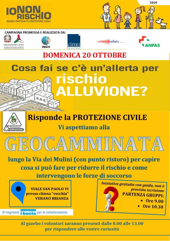 volantino_protezione civile_verano_io non rischio_2019